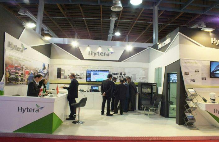 شرکت هایترا در نمایشگاه تلکام تهران 95