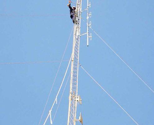 سرویس و راه اندازی شبکه بیسیم محیط زیست بوشهر