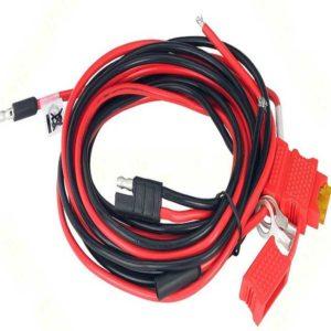 کابل تغذیه بیسیم خودرویی یا ثابت موتورولا مدل HKN4191B